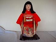 市松人形の着物